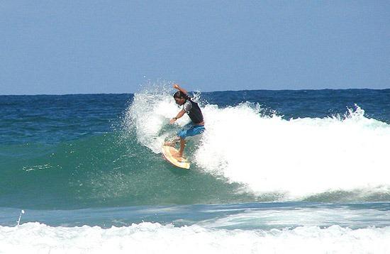 Surfing - Santinho Beach