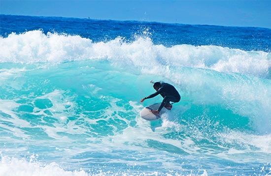 Surfing - Mole Beach
