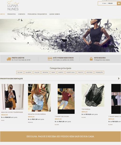 Fashion Store Luana Nunes