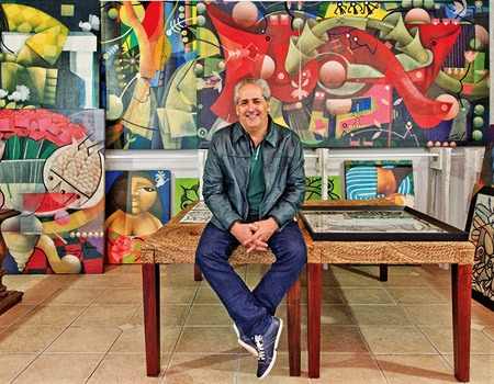 Painter Caio Borges