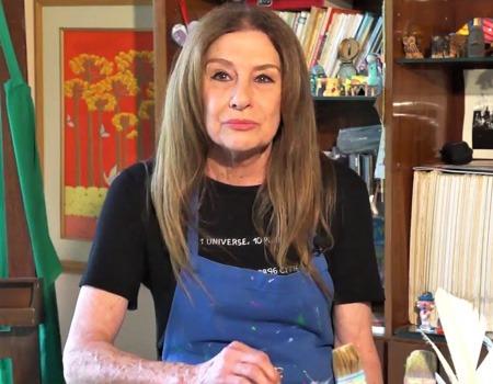 Painter Tereza Martorano