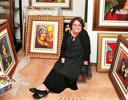 Painter Vera Sabino